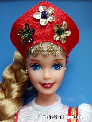 1997 Dolls of the World - Russian Barbie 2nd Edition #16500