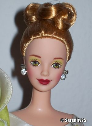 1997 Lily Barbie #17556 FAO Schwarz Floral Signature Collection