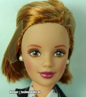1998 Pinstripe Power Giftset Barbie #19791
