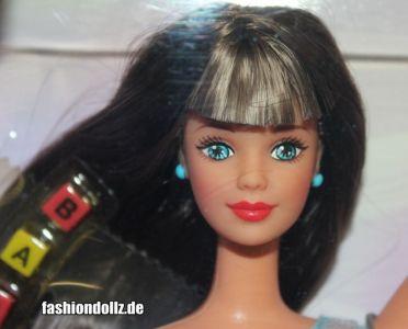 1998 Bead Blast / Trend Frisuren Barbie, brunette #18891