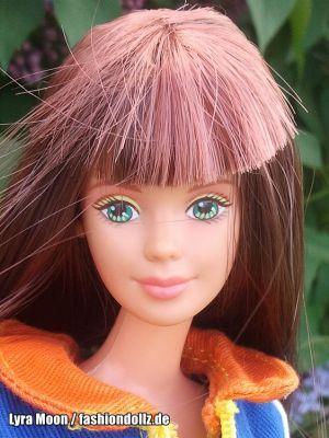 1998 Bead Blast / Trend Frisuren Barbie, redhead #18890