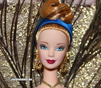1998 Birds of Beauty Collection - The Peacock Barbie #19365