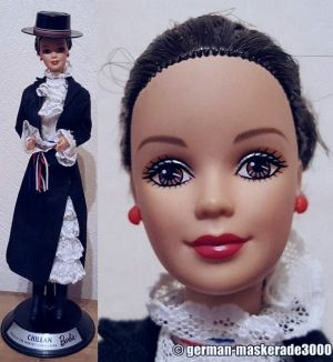 1998 Dolls of the World - Chilean Barbie #18559