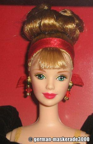 1998 Winter Splendor Barbie - Avon Exclusive #19357