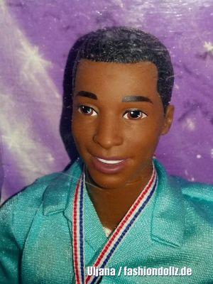 1998 Olympic Skater Barbie & Ken AA  #18727, #18504