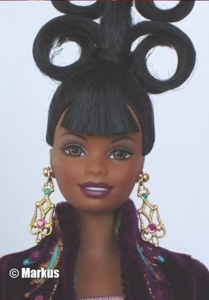 1999 Plum Royale Barbie by Byron Lars #23478