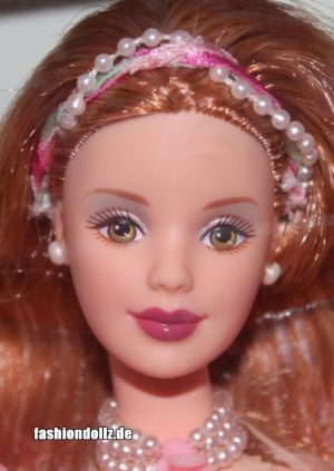 1999 A Garden of Flowers Collection - Rose / Rosa Barbie #22337