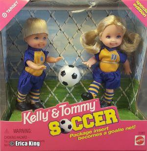 1999 Soccer Set Kelly & Tommy #22963