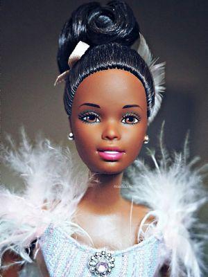 2001 Ballet Masquerade Barbie AA #29386 Avon Exclusive