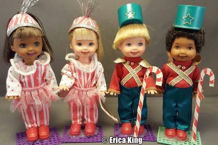 2001 Barbie in the Nutcracker -  Kelly & Friends