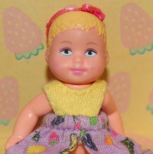 2002 Stroll'n Play / Buggy Spaß Barbie & Baby Krissy, blond (Variante) #50964