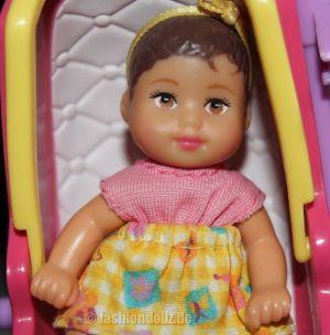 2002 Stroll'n Play / Buggy Spaß Barbie & Baby Krissy, brunette #50964