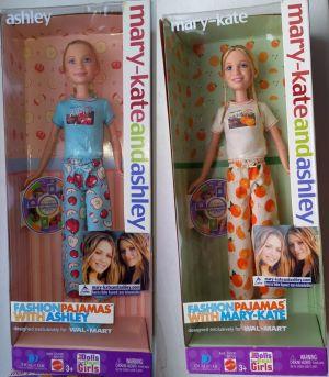 2002 Fashion Payamas - Ashley & Mary-Kate Olsen
