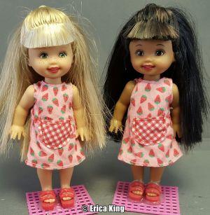 2002 Fun Treats Barbie & Kelly  #55578, AA #55579