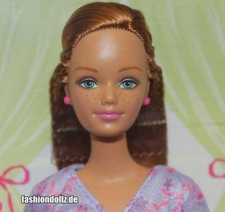 2003 Happy Family Midge & Baby #56663 (lavender dress)