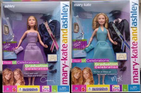 2003 Graduation Celebration - Ashley & Mary-Kate Olsen