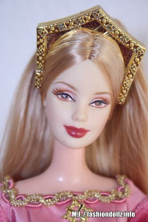 2003 Princess Collection - Princess of England Barbie B3459