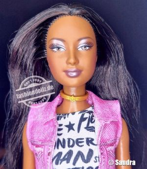 2003 The Birthstone Collection - June Pearl Barbie AA #C0576