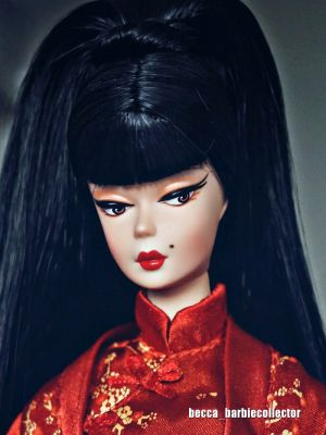 2004 Chinoiserie Red Moon Barbie B3431
