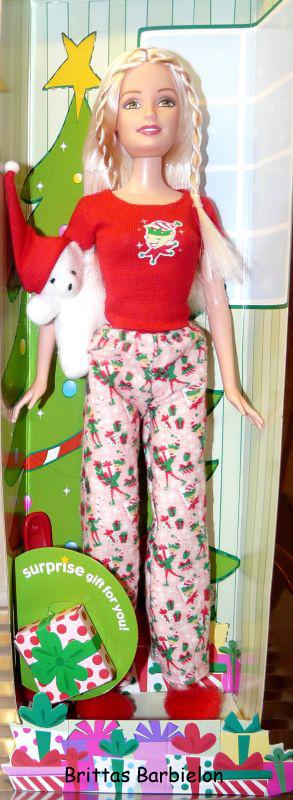 2004 Christmas Morning Barbie G6470 Bild #03