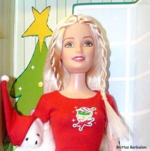 2004 Christmas Morning Barbie G6470 Bild #07