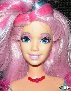 2006 Fairytopia Mermaidia - Glitter Swirl Fairy, pink J0737