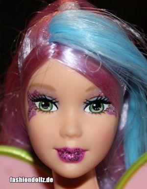2007 Barbie Fairytopia Mermaidia - Color Change Water Fairy, green K2655