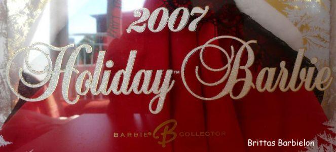 2007 Holiday Barbie Bild #02