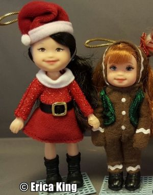 2008 Happy Holidays Tree Ornaments Kayla + Miranda