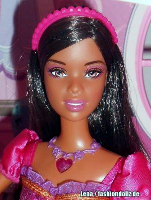 2008 Barbie & the Diamond Castle -      Princess Liana AA #M0786