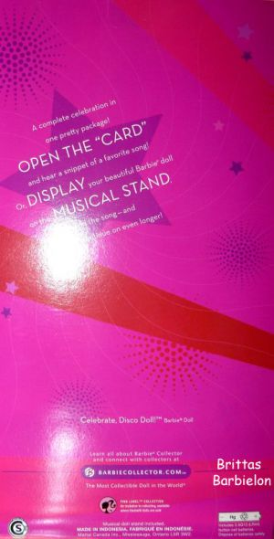 2008 Celebrate Disco Barbie Bild #11