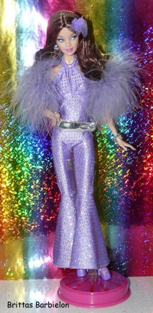 2008 Celebrate Disco Barbie Bild #14