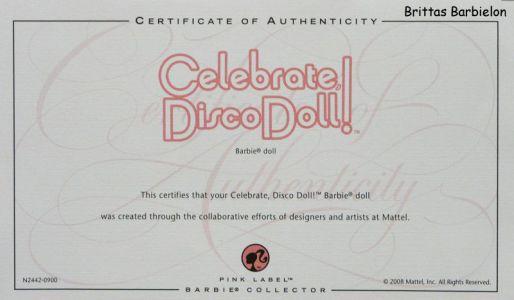 2008 Celebrate Disco Barbie Bild #18