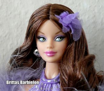 2008 Celebrate Disco Barbie N2441 Pink Label