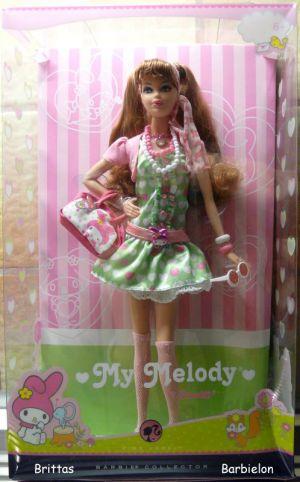 2008 My Melody Barbie M7510 Bild #01