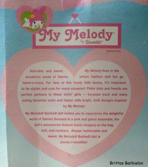 2008 My Melody Barbie M7510 Bild #03