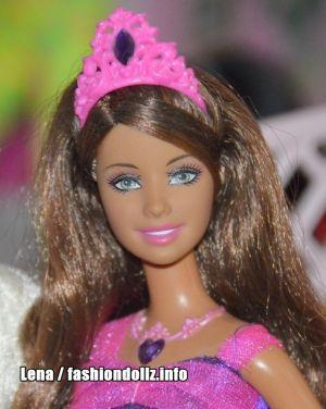 2008 Barbie & the Diamond Castle -     Princess Alexa M7833