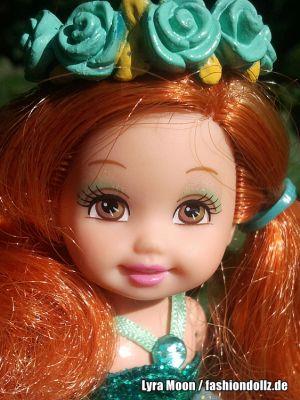 2008 Barbie & the Diamond Castle - Kelly & Sparkle Pony, green M0799