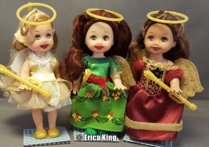 2008 Barbie in a Christmas Carol - Angels Set N7540