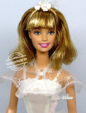 2008 Grease, Sandy Barbie - Dance Off #M3254