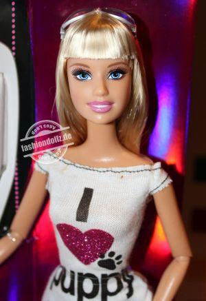 2009 Talk To Me Tees Barbie  #M9337