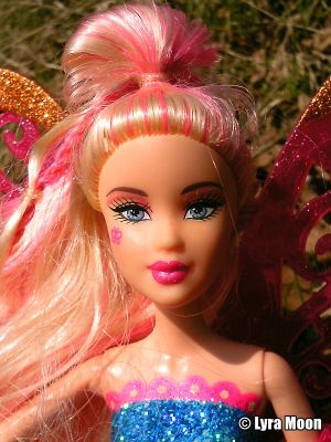 2010 Barbie Fashion Fairy, pink T3037