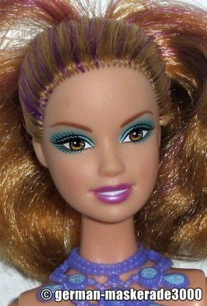 2010 Barbie in a Mermaid Tale - blue R4138