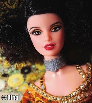 2011 The Museum Collection - Gustav Klimt Barbie V0443