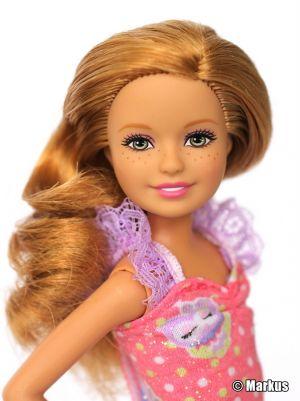 2011 Barbie Sisters' Sleeptime Bedroom for 3 Set Stacie T7534