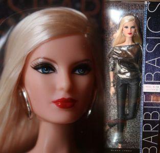 Basics Collection 002.5 (Metallic), Model 14 Barbie T7916mit Louboutin Face