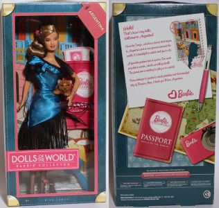 2011 Dolls of the World - Argentina Barbie W3375