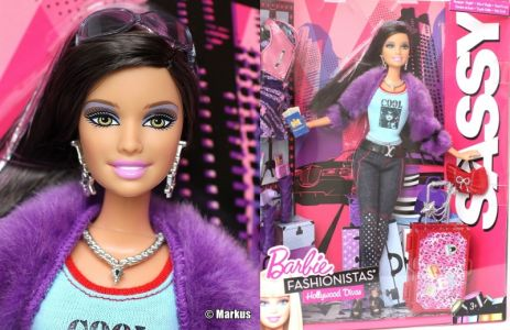 2011 Fashionistas Hollywood Divas Wourld Tour Sassy V9515