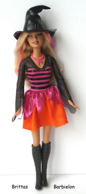 2011 Halloween Party Barbie Bild #04
