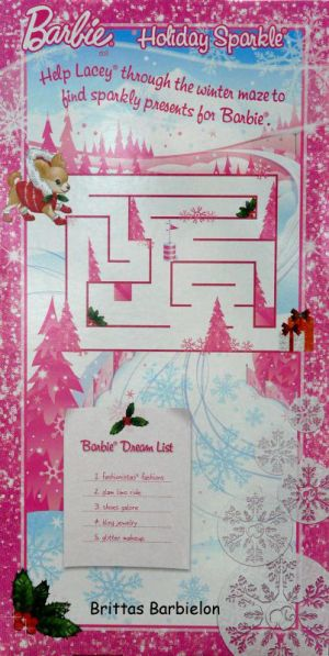 2011 Holiday Sparkle Barbie AA V4416 Bild #03